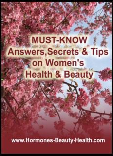 MUST KNOW Answers, Secrets & Tips On Women's Health