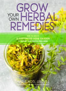 Grow Your Own Herbal Remedies How to Create a Customized Herb Garden to Support Your Health