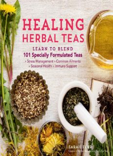 Healing Herbal Teas Learn to Blend 101 Specially Formulated Teas for Stress Management, Common